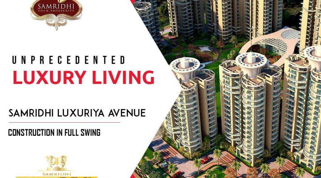 3 bhk flats in sector 150 noida, samridhi luxuriya avenue