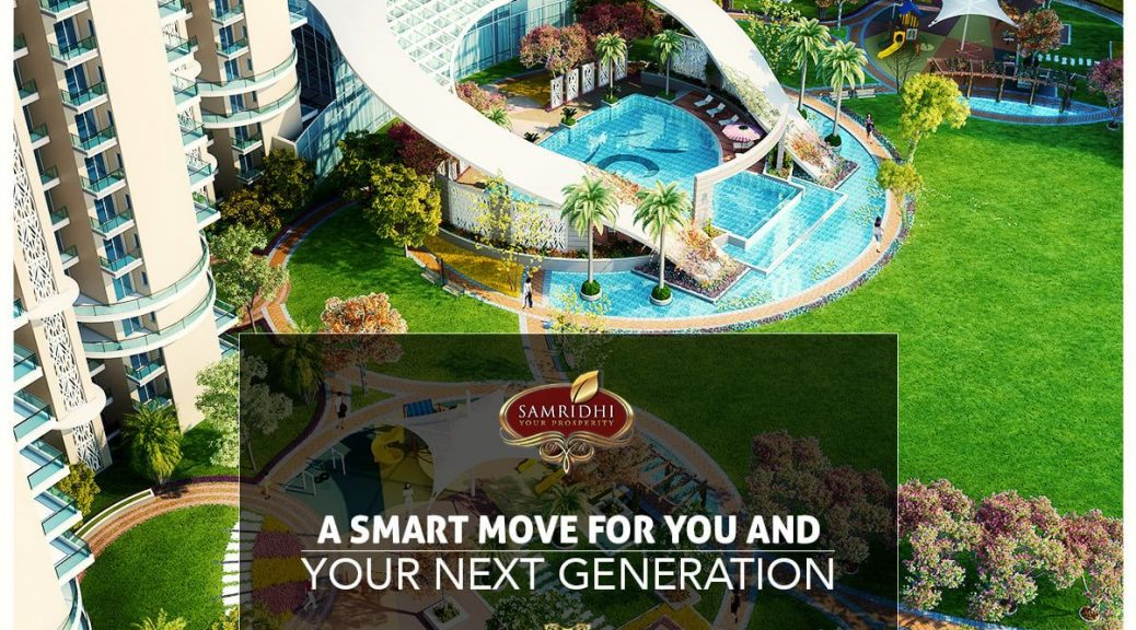 residential projects in noida 150, samridhi luxury avenue