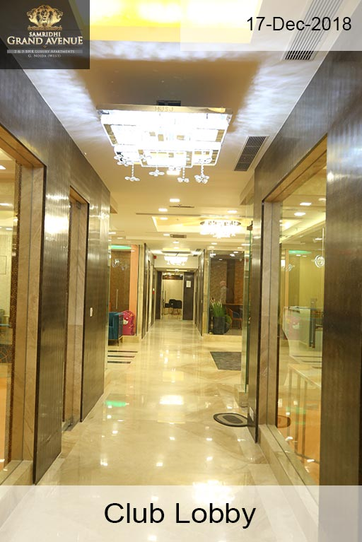 Samridhi Grand Avenue Club-Lobby