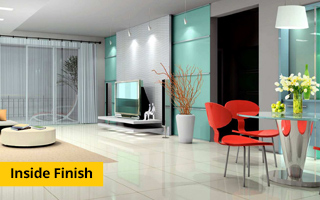 Inside Finish - 3 BHK flats in Greater Noida west Samridhi Grand Avenue
