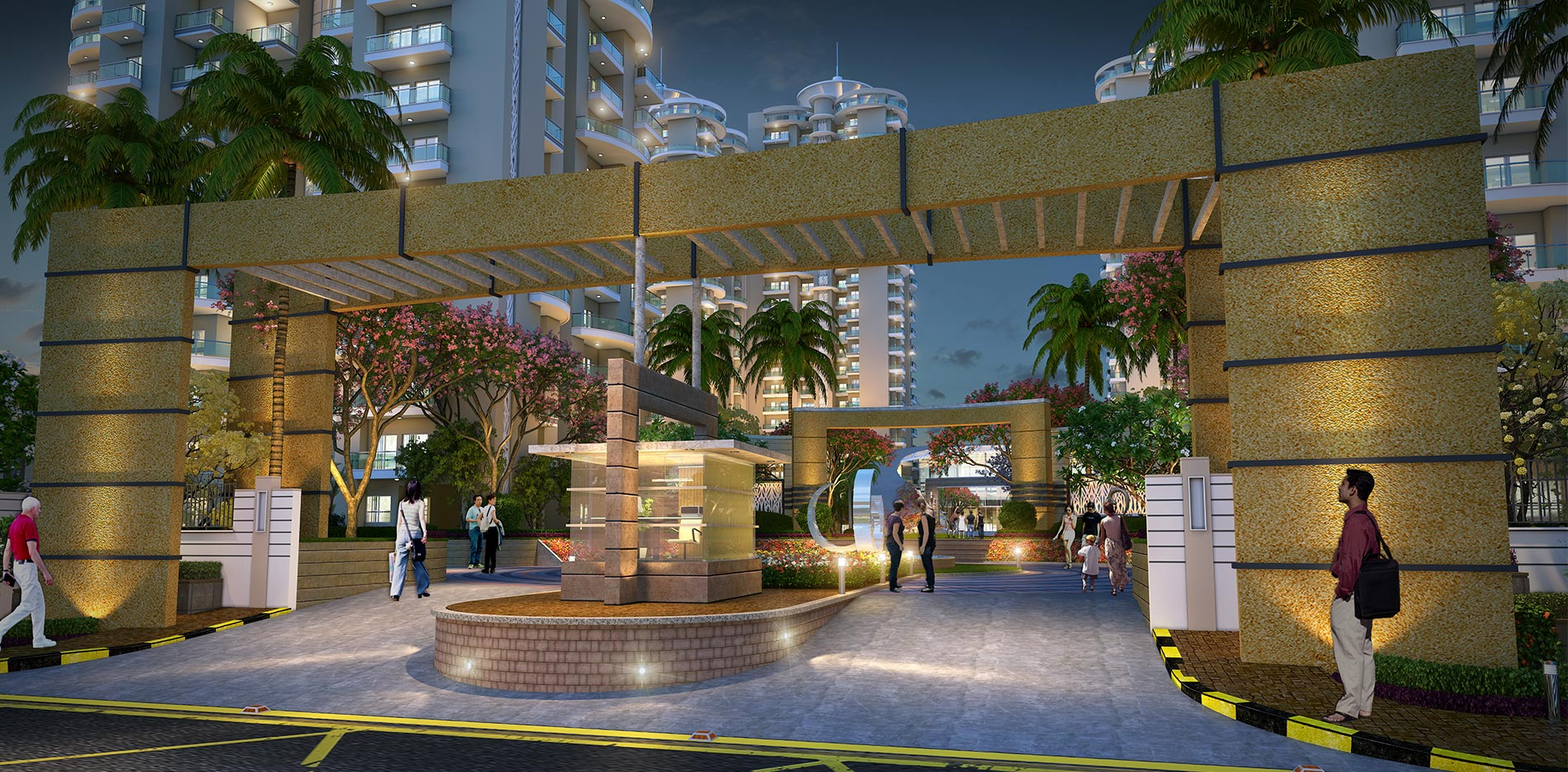 best residential project in noida sector 150 - samridhi luxuriya avenue